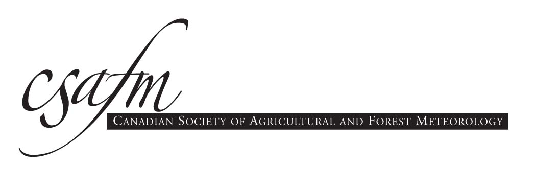 Canadian Society of Agricultural and Forest Meteorology